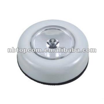 1LED round push light
