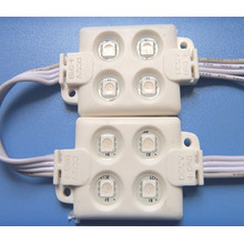 5050 Módulo do diodo emissor de luz de 4PCS 55 * 34mm 12V RGB