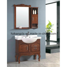 Gabinete de baño de madera maciza / vanidad de baño de madera maciza (KD-450)