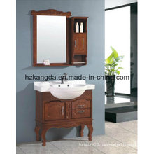 Solid Wood Bathroom Cabinet/ Solid Wood Bathroom Vanity (KD-450)