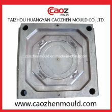 Kunststoff-Einspritzschloss-Verschluss Runde Behälter Deckel-Form