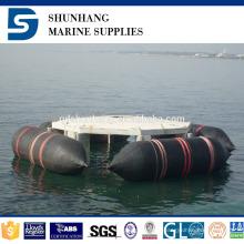 airbags do salvamento do barco marinho de borracha natural inflável da construção industrial