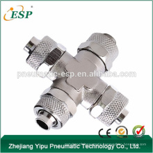 China supplier rpza brass union cross rpza rapid fittings