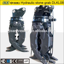 hydraulic wood clamp, hyundai excavator grapple, timber grapple, log grab, log grapple attachment