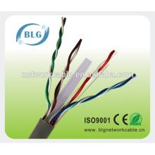 Сетевые провода Cat6 для внутренних помещений Изолированные провода из ПВХ