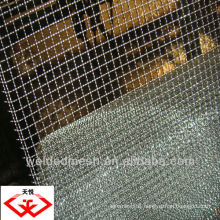 TianYue Lock Crimped Wire Mesh Manufacture