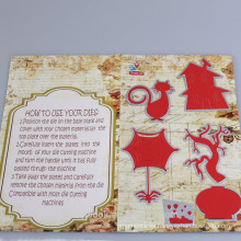 Plantillas de corte de la forma animal lindo regalos de adornos de Navidad para niños 2016 hilado decoración alibaba co Reino Unido chinas supplie