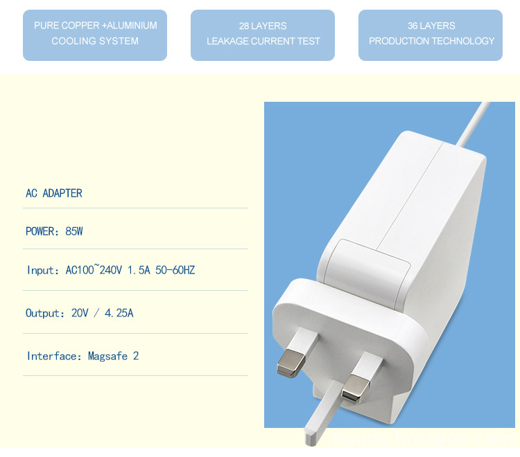 macbook air charger magsafe 2