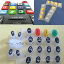 Mutil Color Silicone Rubber Keypad Keypress Keyboard