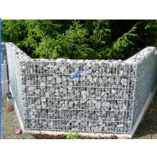Caixa de gabião de malha de arame galvanizada soldada (TS-L103)