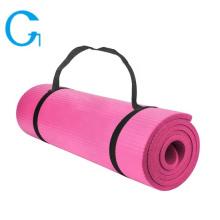 Esteira antiderrapante eco-friendly da ioga de NBR para o exercício