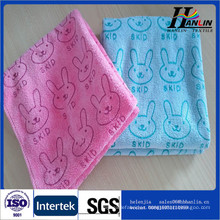 Doble de terciopelo Microfibra multiusos de toalla al por mayor para el hogar