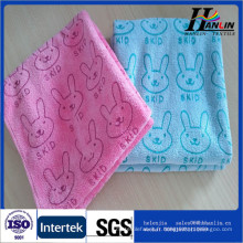 Double velours Microfibre porte-serviettes multi-usages pour ménage