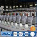 ZHAO921 plana con dispositivo de lentejuelas doble equipo de bordado máquina