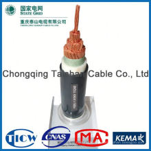 Professional Cable Factory Power Supply non-flexible round cable