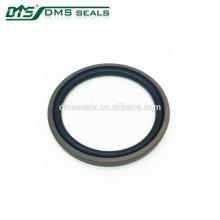 40% vedação de duplo efeito com enchimento de bronze e vedação hidráulica de anel O / NBR / FKM O