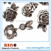 Schöne Mode Magnetische Caslp Gürtelschnalle Haken Foe Halskette