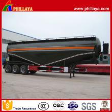 3 Axles V Shape 68 Cbm Bulk Cement Trailer