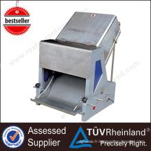Trancheuse industrielle de pain industriel d'acier inoxydable résistant de 28/30 PCs