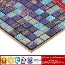 Suministro de China azulejo de la piscina interior y exterior Azulejo de mosaico oro caliente derretimiento