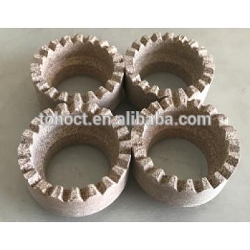 anel de ferrolho de cerâmica