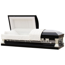 Knight Black Brushed 18 Ga Steel Us Casket