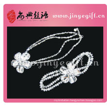 Shangdian Handcrafted China Fashion Accessories Handcraft Custom Bridal Jewelry Set