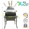Tragbarer Grill aus Edelstahl für den Außenbereich mit ISO9001: 2008