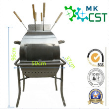 Stainless Steel Portable BBQ Grill for Outdoor with ISO9001: 2008