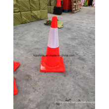 Flexible Reflective PVC Traffic Road Safety Soft Cones
