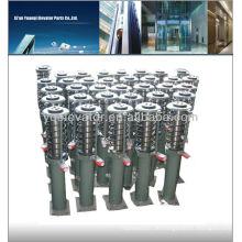 Aufzugspuffer, Aufzugssicherheitsteile