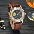 luxury automatic skeleton private label tourbillon mechanical man watches