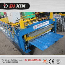 Dx Farbe beschichtet Metall Dach Panel Making Machine