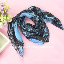 Темно-синий шарф