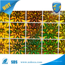 High Quality Self Adhesive Label,Holographic Adhesive Letters Stickers
