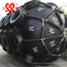Petit amortisseur de quai flottant en caoutchouc pneumatique de type yokohama de taille moyenne