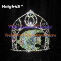 5inch Fish Crystal Rhinestone Pageant Crowns