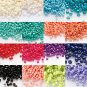 Seed Bead glass paint 16colors to option #15 irregular round