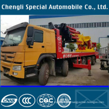 HOWO Truck Horizontal Arm Lift Truck with 150ton Crane