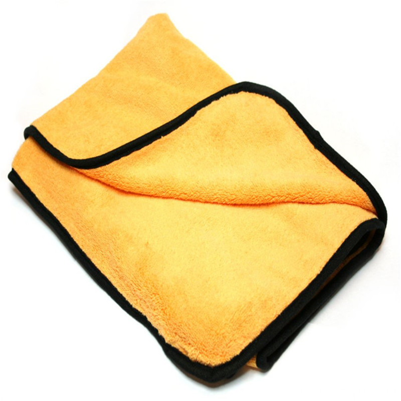 Durable+Car+Wash+Microfiber+Towel+With+Seam+Edge