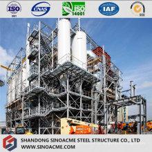 Quadro de estrutura de aço pesado para planta industrial