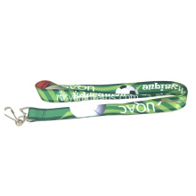 Economy ID Card Swivel Hook Flat Lanyard