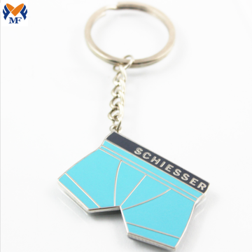 Werbegeschenk Customized Emaille Pants Keychain