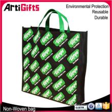 Las muestras gratis reciclan el bolso de compras plegable no tejido