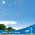 DELIGHT 8M Octagonal Pole Solar Street Light Lamp