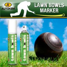 Lawn Bowl Spray Marker, spray de giz, removível Chalk Spray