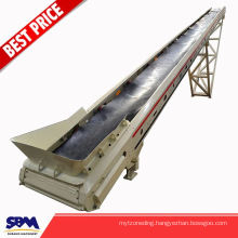 Industrial Rock Crusher used minni conveyor belt for ore