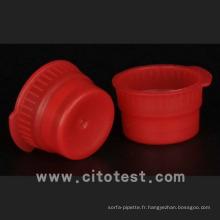 Bouchons et bouchons de tubes à essai en plastique (4070-3013-13)