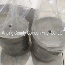 Stainless Steel Edge Covering Coffee Filter Disc