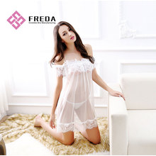 Best Quality for Transparent Lingerie Dress Honeymoon Lingerie Sexy Lace Mesh export to Indonesia Manufacturers